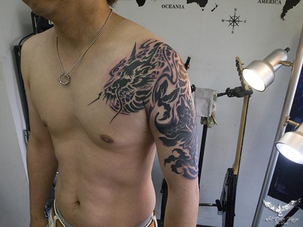 タトゥー 名古屋 大須 トライバル