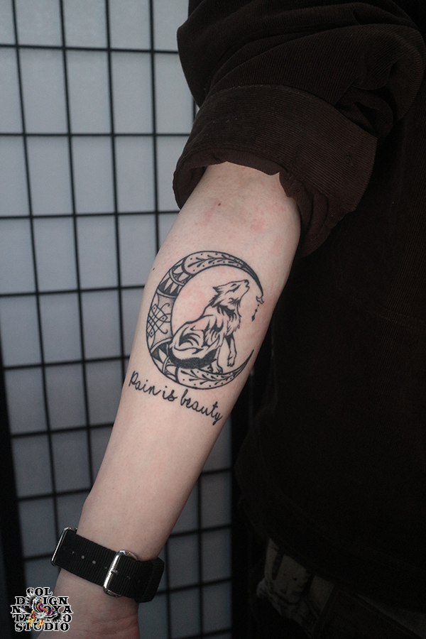 大須 タトゥー トライバル
